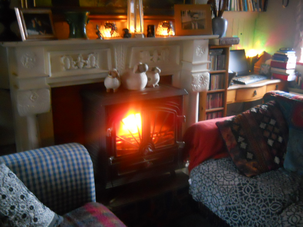 Bealtaine Cottage wood burning stove