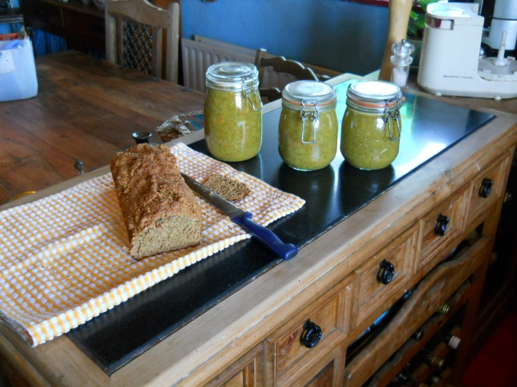 Bealtaine Cottage Permaculture home made soup