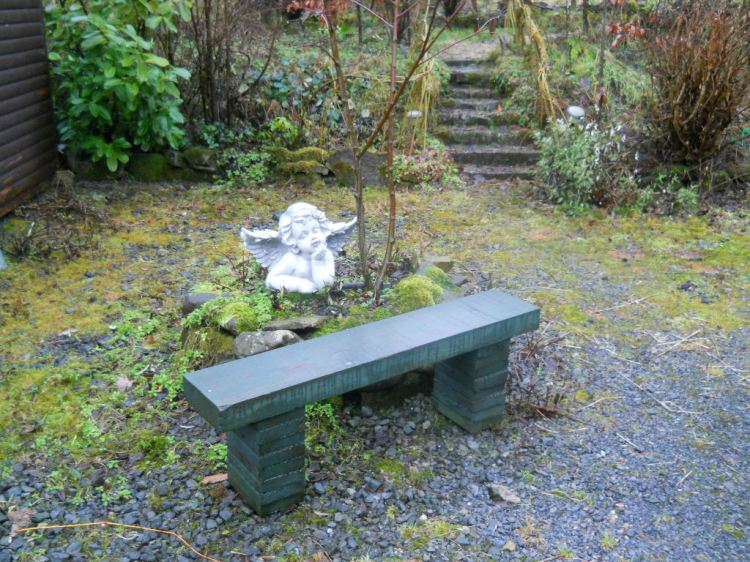 Bealtaine Cottage Permaculture garden