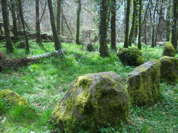 Bealtaine Cottage stone circle