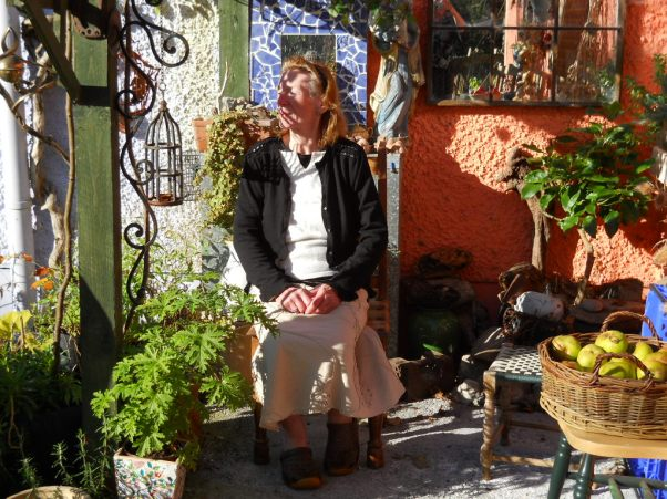 mum at Bealtaine Cottage