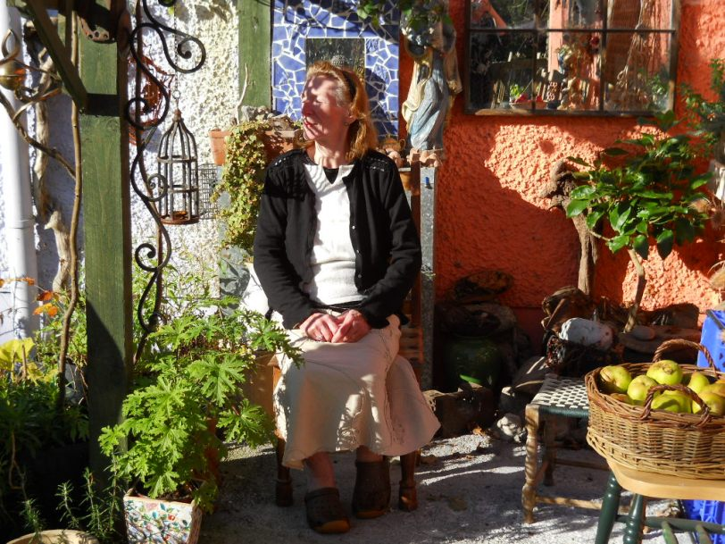 mum at Bealtaine Cottage