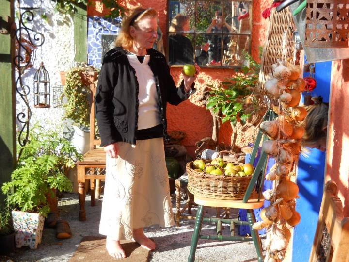 mum, aged 80, at Bealtaine Cottage