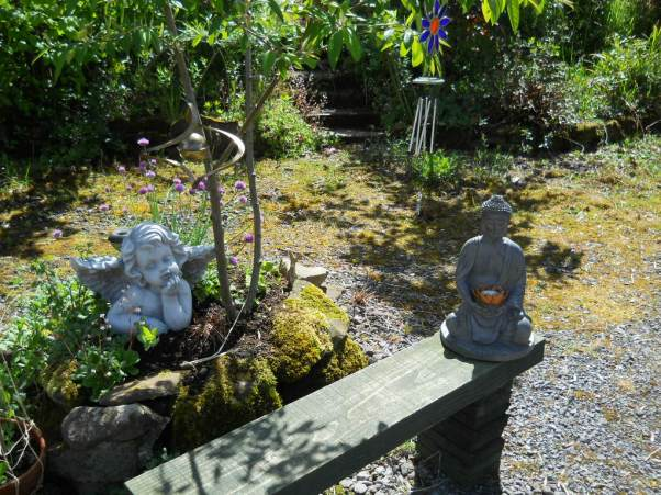 Contemplation Courtyard at Bealtaine Cottage