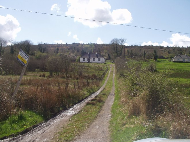 Bealtaine Cottage at the beginning