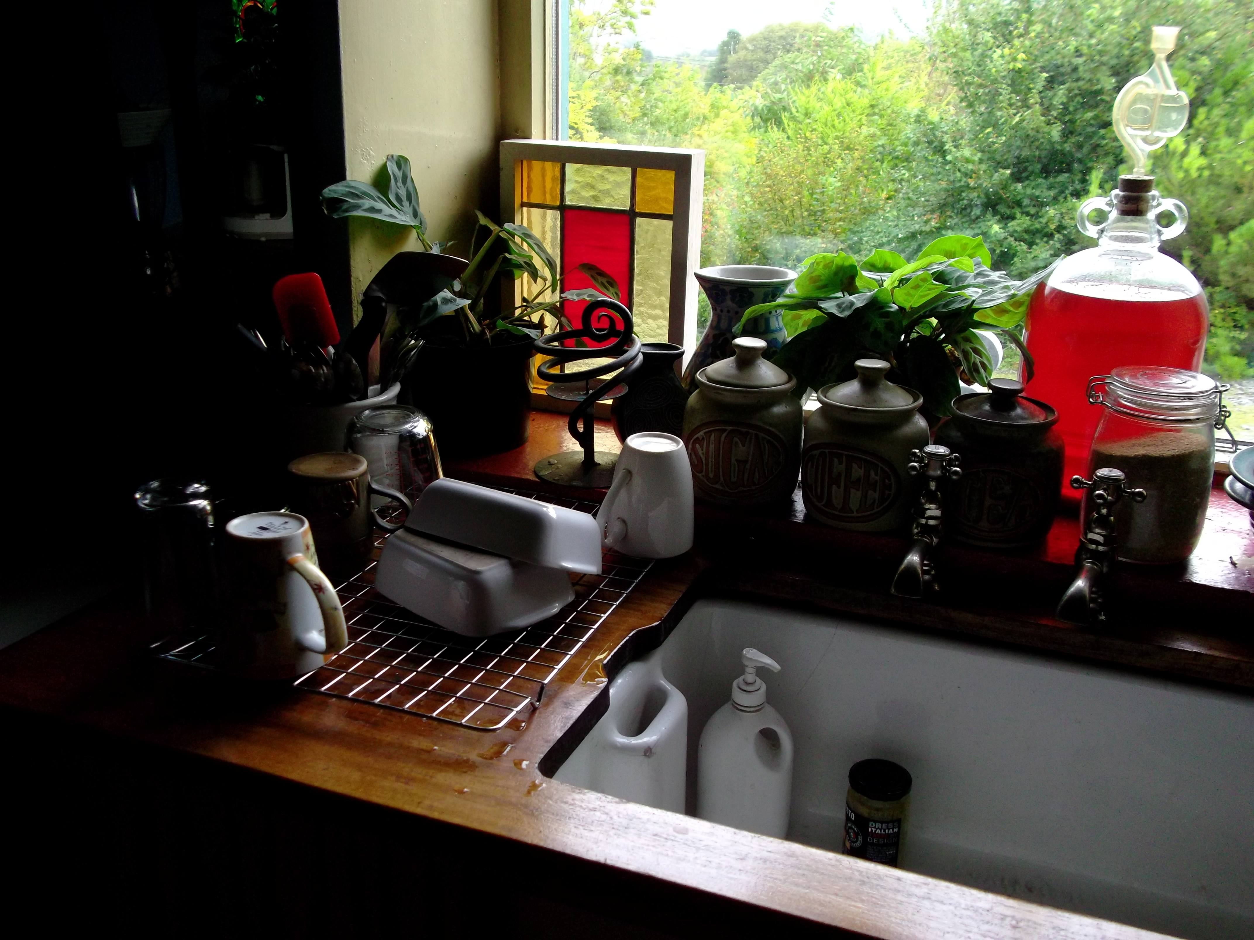 Permaculture Kitchen Sink Waste Project