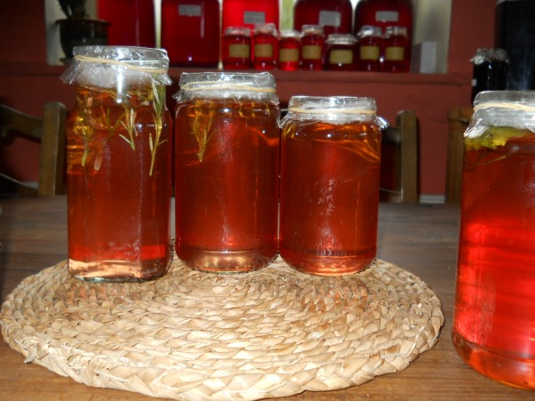 apple jelly at Bealtaine Cottage