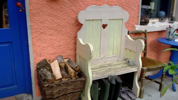 Shabby chic at Bealtaine Cottage