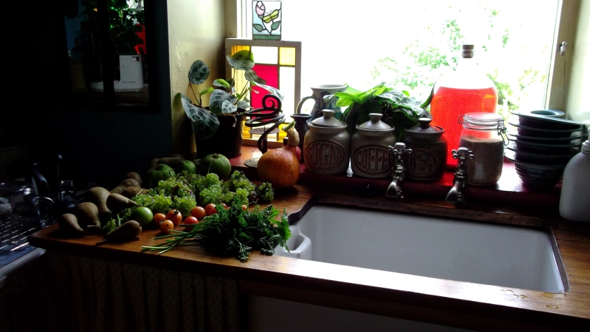 Harvest at Bealtaine Cottage
