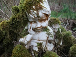 The Bealtaine Cottage angel ponders it all...