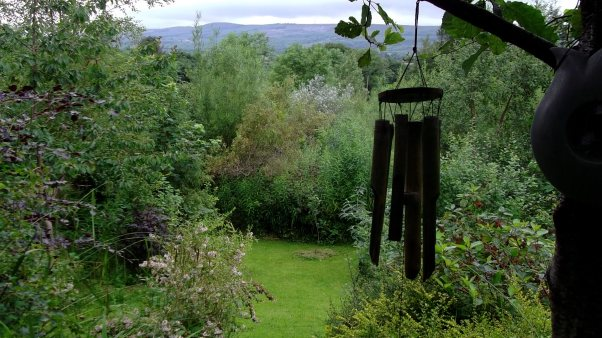 Windchimes at Bealtaine Cottage