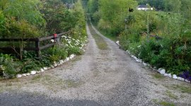 Bealtaine Cottage driveway