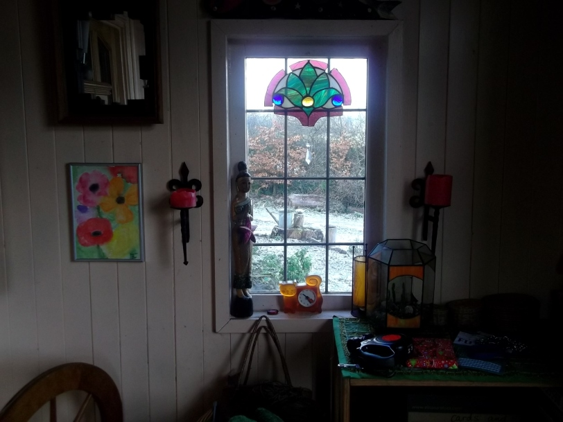 Bealtaine Cottage permaculture porch