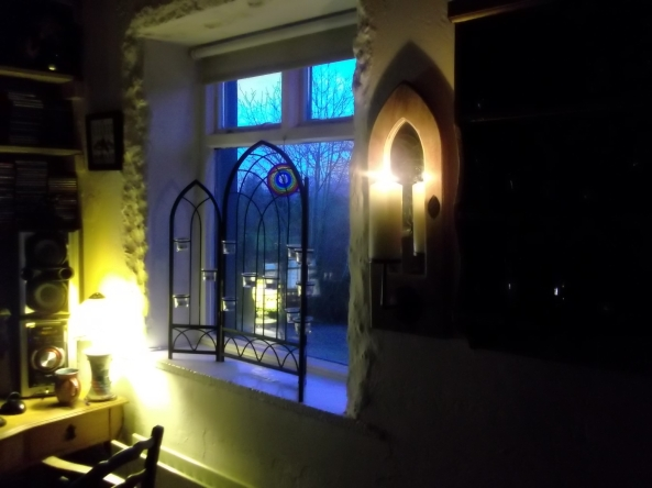 Bealtaine Cottage before Christmas 2012