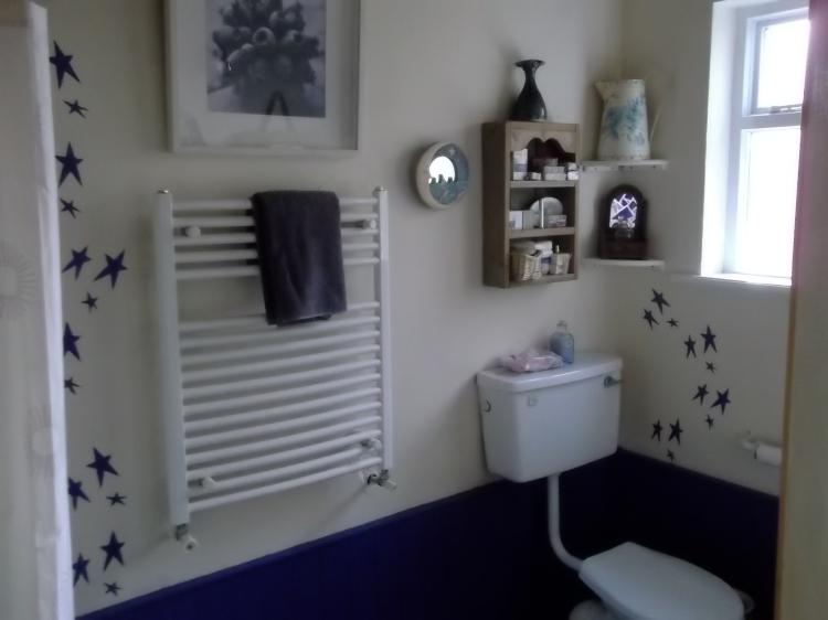 Bealtaine Cottage Shower room