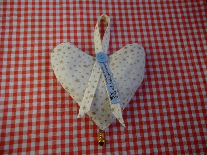 Individually designed Lavender Hearts for sale at Bealtaine Cottage on Etsy