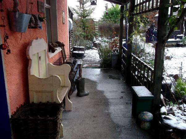 veranda at Bealtaine Cottage