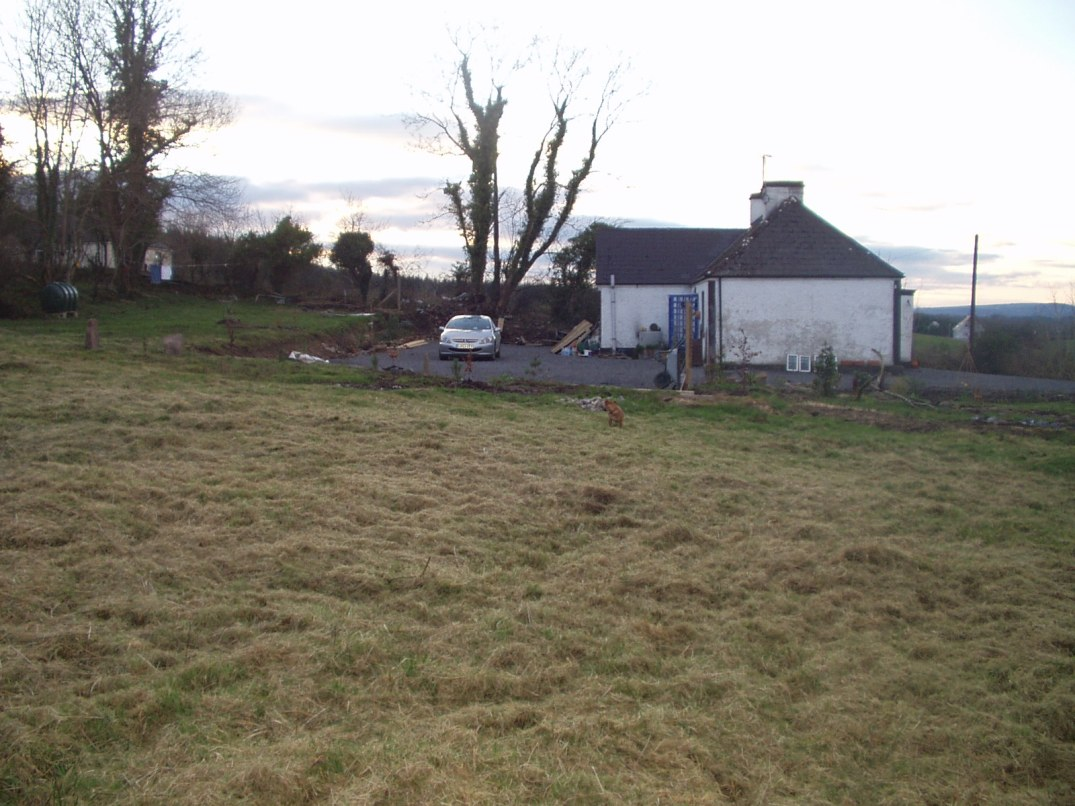 Before permaculture. Bealtaine Cottage