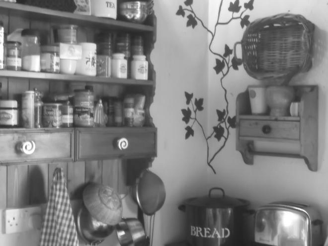 kitchen at Bealtaine Cottage