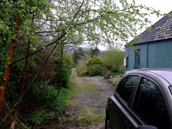 Laneway at Bealtaine Cottage