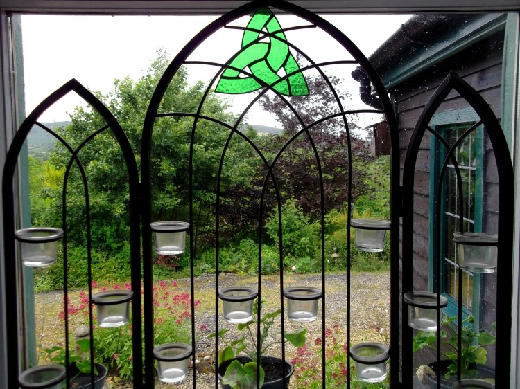 window at bealtaine cottage