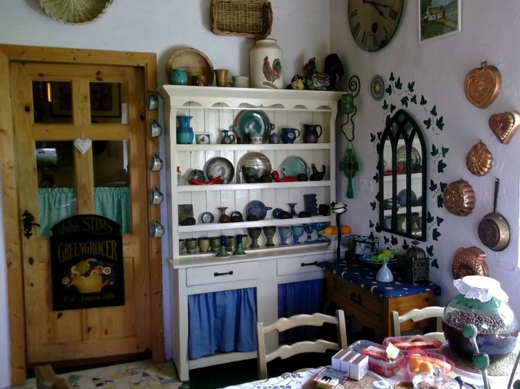 Irish dresser at Bealtaine Cottage