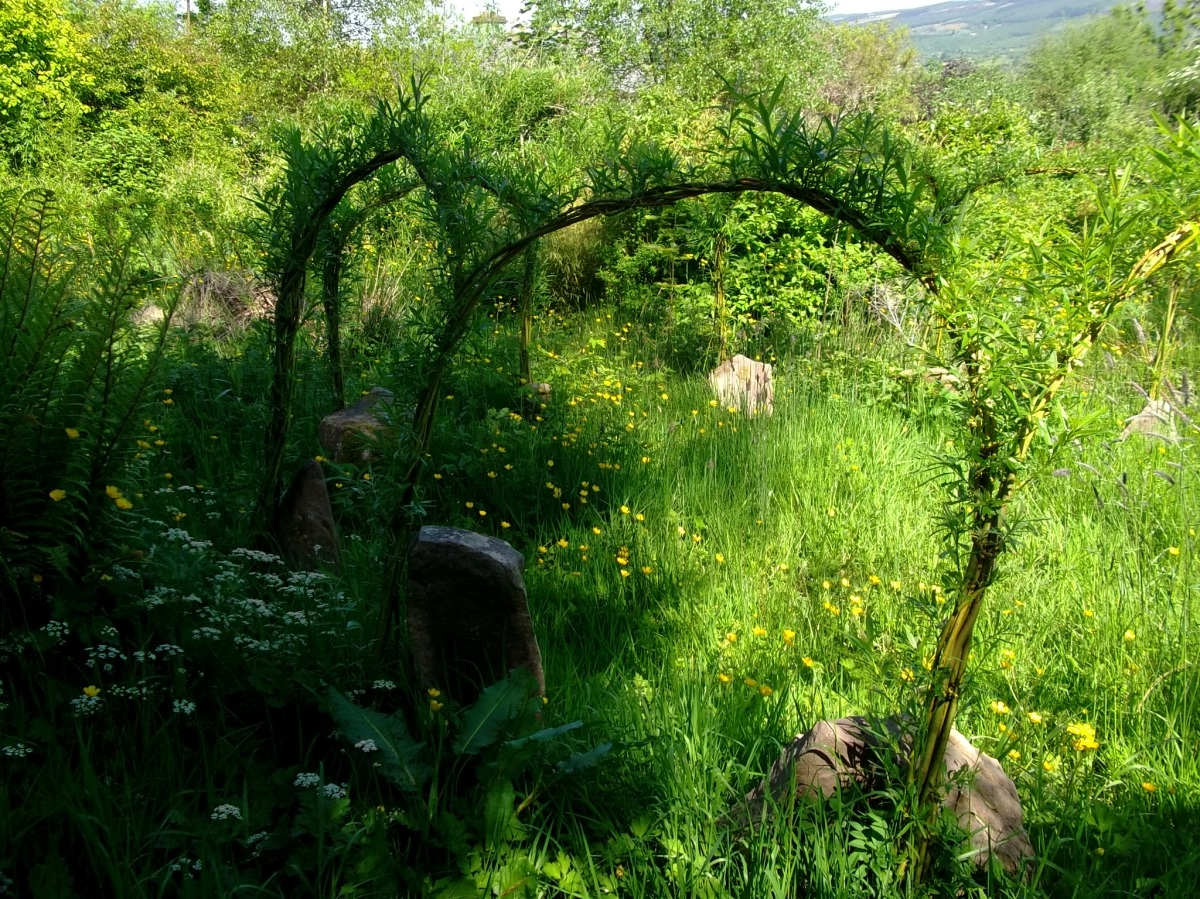 Stone Circle at Bealtaine Cottage