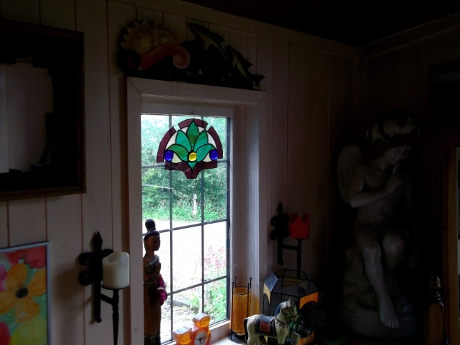 porch at bealtaine cottage