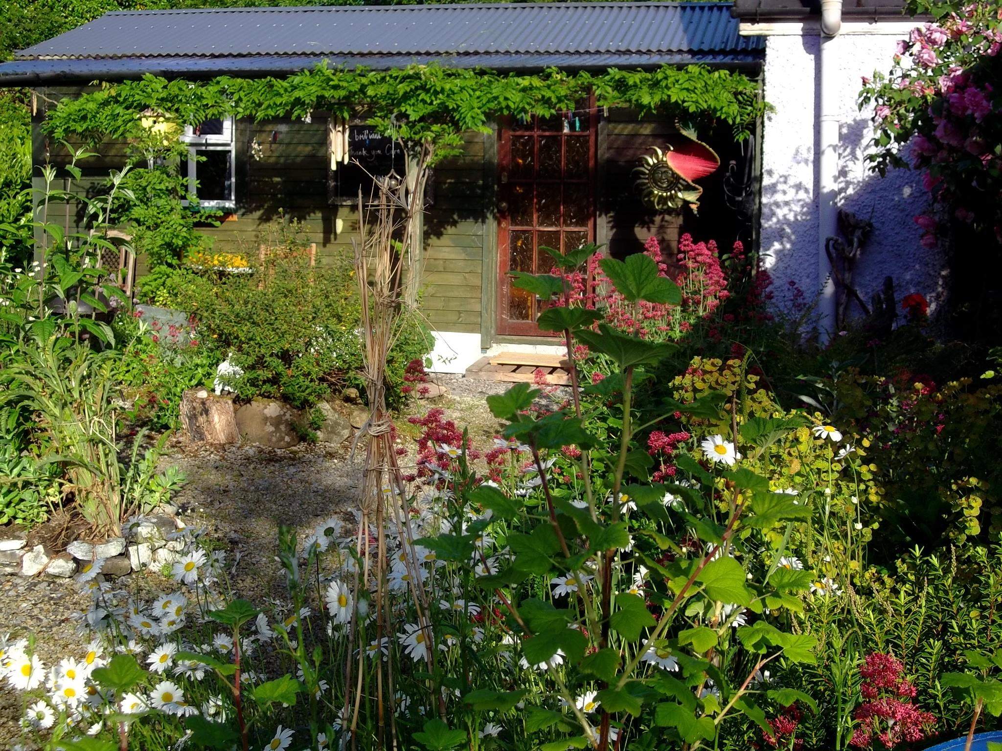 Bealtaine Lodge on Midsummer morning