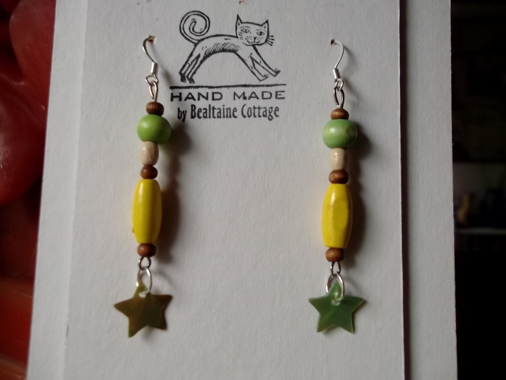 Bealtaine Cottage Earrings