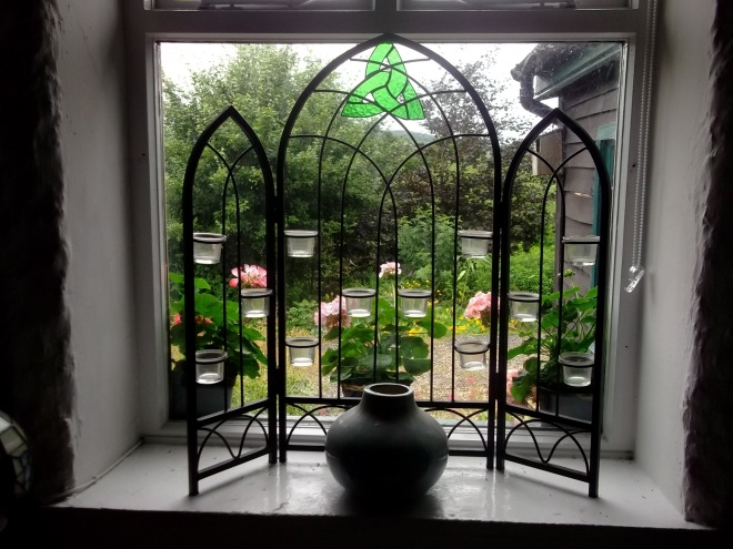 bealtaine Cottage window