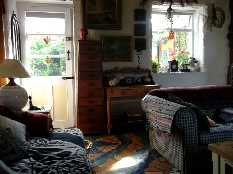 sitting room at Bealtaine Cottage