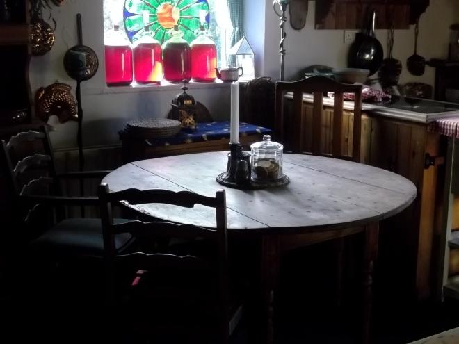 wine, kitchen