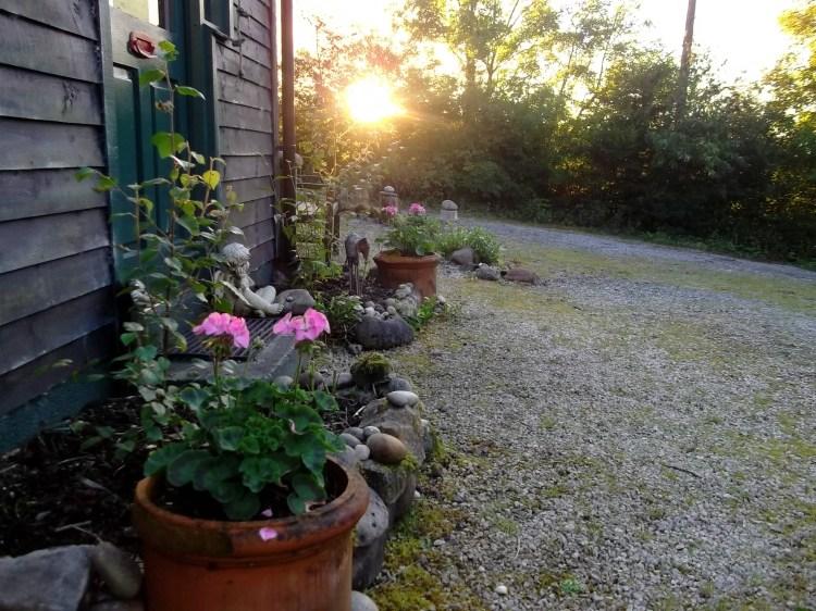 front door of bealtaine cottage