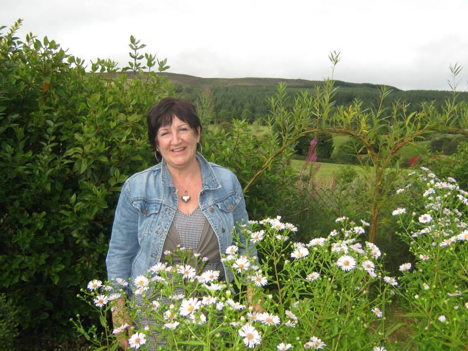 September 2013 in Cara's garden.