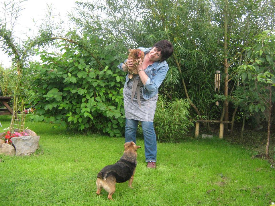 Gloria, me and Flo