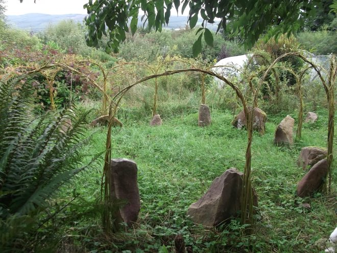 Autumn in the Permaculture Gardens of Bealtaine Cottage 020