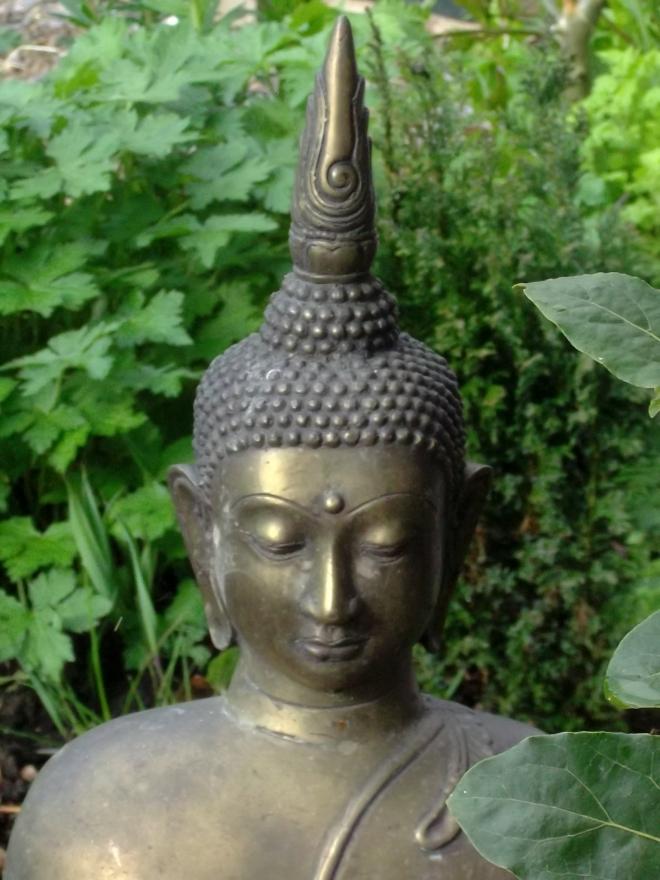 Buddha in the gardens