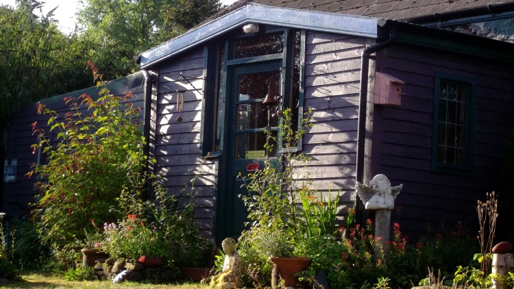 Autumn in the permaculture gardens of bealtainecottage.com 004