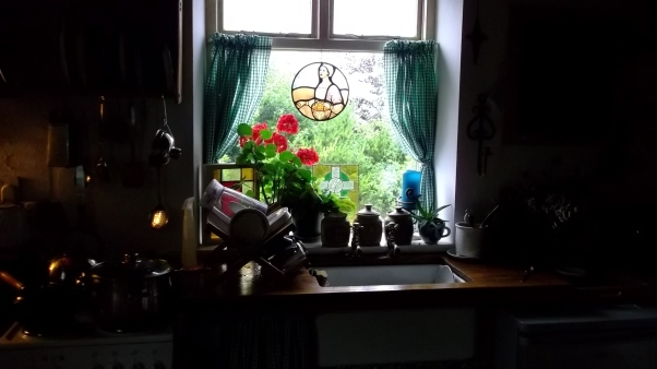 Bealtaine Cottage kitchen window