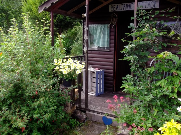 Garden shed at Bealtaine Cottage