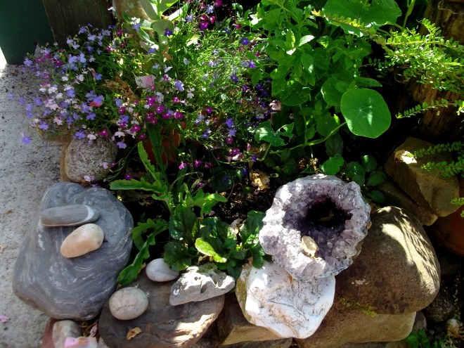 Amethyst horn at Bealtaine Cottage