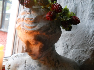 Demeter, the Goddess at Bealtaine Cottage Permaculture March 2011 011