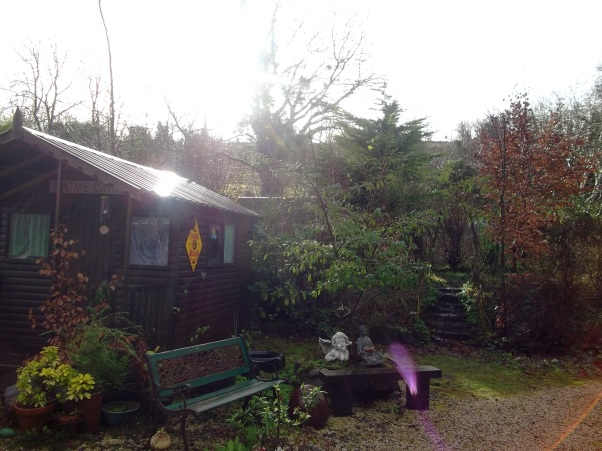 Angels in the rain at Bealtaine Cottage