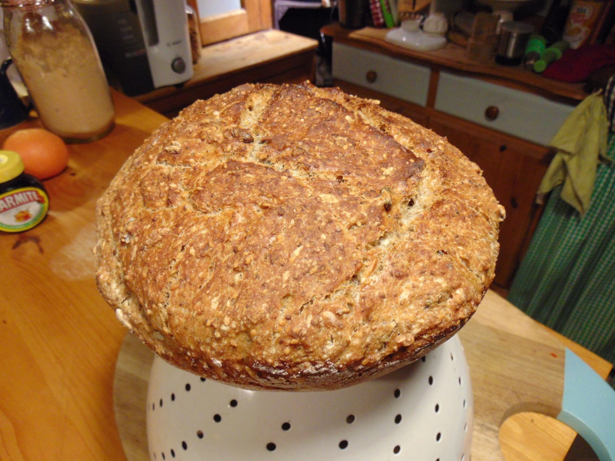 Homemade Bread and Book Update